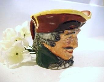 Toby jug, toby mug, dick turpin,  beer mug, pottery jug, three cornered hat, fillpot, royal doulton