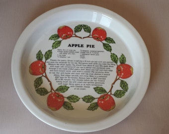 Shefford Apple Pie Pan with Recipe