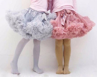 Full and fluffy pettiskirts