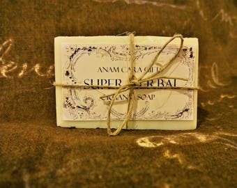 Super Herbal Healing Soap - Medicinal Soap, Wound Cleansing Soap for Humans, Dogs and Horses, Healing Soap, Eczema Soap, Skin Treatment Soap