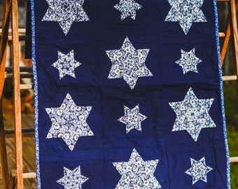 Six Point Star Table Runner