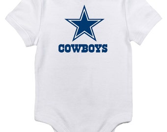 Dallas Cowboys Onesie with your last name and number