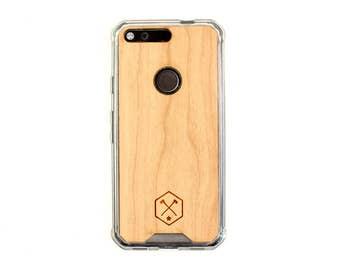 TIMBER Google Pixel Wood Case