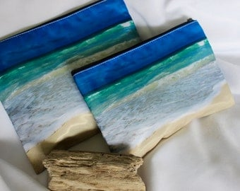 POLY-ZIP Photo Clutch -- By the Sea