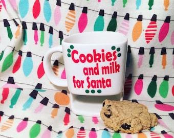 Cookies and Milk for Santa mug