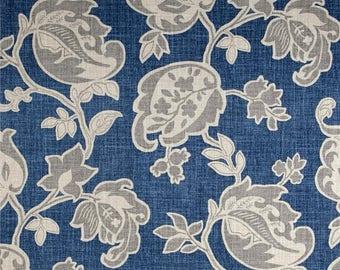 Arabella Yacht Pillow Cover, Euro.Sham, Lumbar,18 x 18, 20 x 20, 24 x 24,  Pillow Insert, Magnolia Java Blue,Spa Blue Pillow Cover