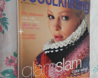 Vogue Knitting (International) Magazines 3 Issues