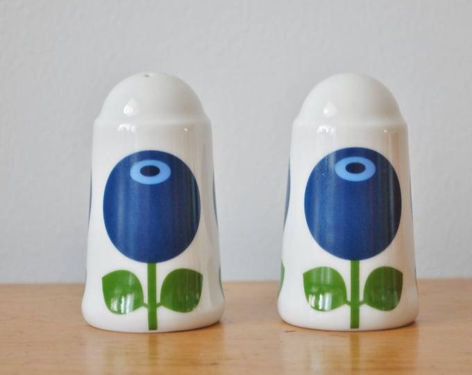 Swedish Blueberries Salt & Pepper Shakers Scandinavian Modern