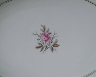 "Noritake DARYL 16"" Oval Serving Platter EXCELLENT CONDITION"