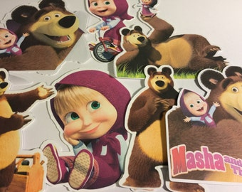 Masha and The Bear Die Cuts