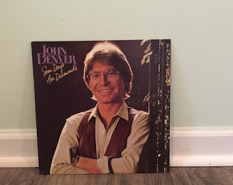 "John Denver ""Some Days Are Diamonds"" vinyl record"