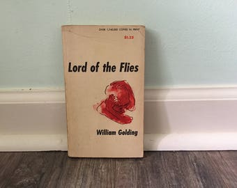 "William Golding ""Lord of the Flies"" paperback novel"