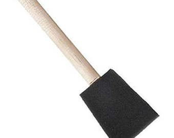 "Foam Paint Brush - Paint or Chip Brush - 1"" Width"