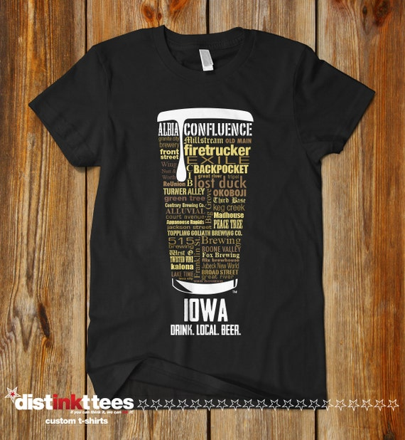 Iowa Craft Beer T Shirt