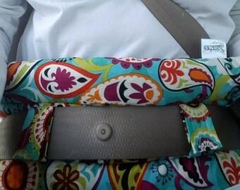 Hysterectomy Seatbelt Pillow - Abdominal Pillow - Breast Cancer Survivor Gift - Seat belt Pillow - Surgery Gifts - Seat Belt Pillow - Ostemy