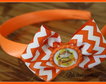 Orange headband rubble (inspired)