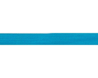 "Blue - 5 Yards 1/4"" Soft Skinny Elastic - 1/4-SSE-014"