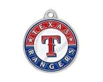 Texas Rangers Baseball Charm