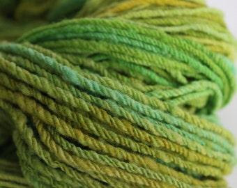 Hand Spun Babydoll Southdown Yarn, 3-ply 250yds