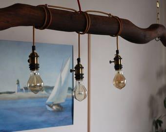 Ox yoke - hanging lamp