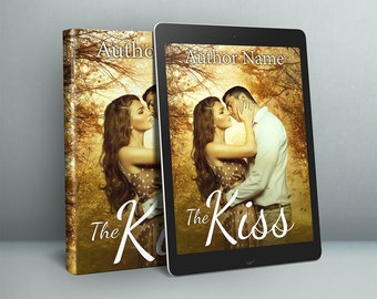 Premade romance cover design for self publishing authors