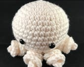 White Octopus Amigurumi (Unfinshed Design)