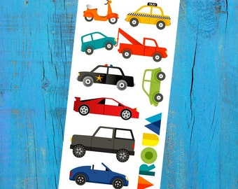 Temporary Tattoos -  Car Madness