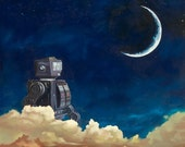 Dreaming of Robots - Art Print