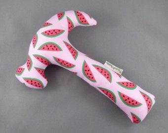 Hammer Rattle - Bay Breeze Watermelons Pink
