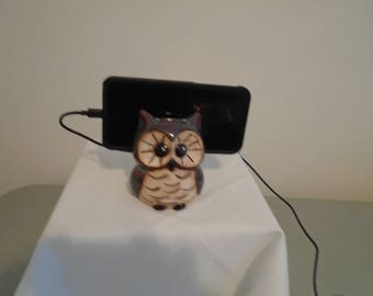 Owl Cell Phone Charging Station!