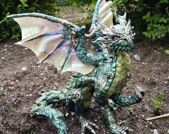 Geldrack Forest Dragon Sculpture
