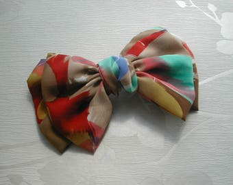Hair bow, hair clip, made in France, gift for her