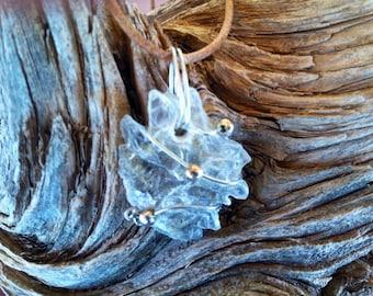 Beautiful Selenite Necklace