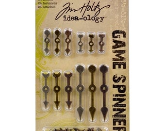 Tim Holtz Idea-ology GAME SPINNERS cc1x