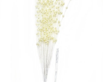 3mm Pearl Ivory Color Spray-144 Stems