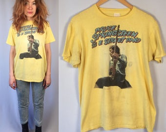Vintage Bruce Springsteen and the E Street Band T-Shirt 1981