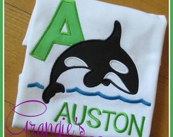 Personalized Orca Whale Shamu Sea World Vacation Shirt