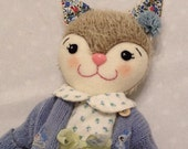Betsy - Handmade Kitten Doll