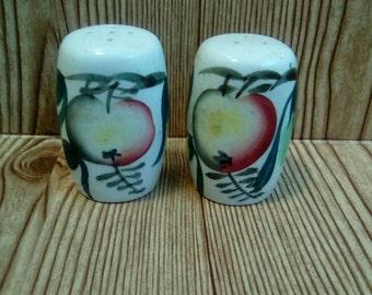 Vintage Japanese Salt and Pepper Shakers | Fruit Salt and Pepper Shakers | Kitchen