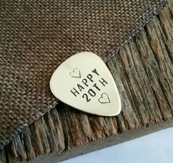 20th Anniversary Traditional Gift: 20th Anniversary Gift For Wife Personalized Pick 20 Year Music