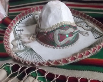 Sombrero Mexican Hat Made In Mexico