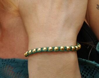 Macrame bracalet, Beaded bracelet, Friendship bracelet, Handmade jewelry, Boho jewelry, Hippie bracelet, Micro macrame, Gift for her, Boho