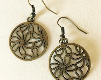 Floral Filagree Earrings
