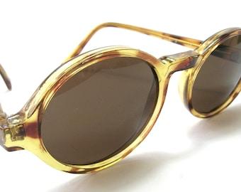 Vintage 1960s Tortoiseshell Round Sunglasses - Filtral Germany - Land Girl Style Vintage Sunglasses