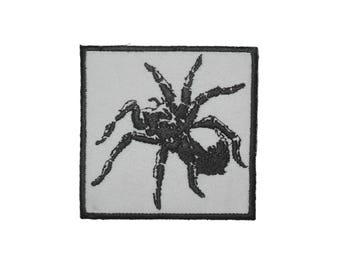 Iron On Patch Tarantula Spider Logo Embroidered Emblem