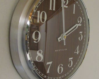Vintage 1960s/1970s Electric Wall Clock