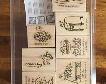 Stampin' UP! For the Birds - FREE SHIPPING!