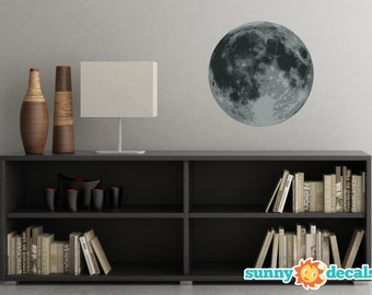 Space wall decals etsy for Wall decor outer space
