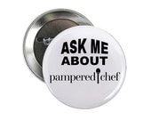 The Pampered Chef 2 inch Pinback Button