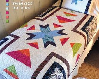 Sugar Creek Quilt Pattern by Rebecca Mae Designs Free Shipping in the US